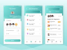 Android Design Inspiration Online Learning App Android App Design App Design App
