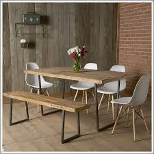 Industrial Reclaimed Table Modern Rustic Furniture Recycled - Rustic modern dining room chairs