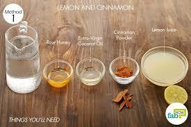 lemon juice natural bleaching agent ½ cup