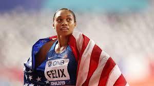 Olympic sprinter Allyson Fenix breaks ...
