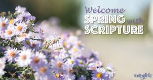 Image result for spring scripture