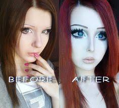 anime eyes makeup before after. Anastasiya Shpagina Turns Herself Into RealLife Anime Girl Plastic Surgery Overload CosmeticSurgery Inside Eyes Makeup Before After