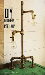 industrial lighting diy. Recycled Steampunk Floor Lamp With Bottles. Project Ideas, Inspiration And Unique Gifts. Take A Look At All 9 Bottle Lamps. #crafts #diyprojects #b\u2026 Industrial Lighting Diy E