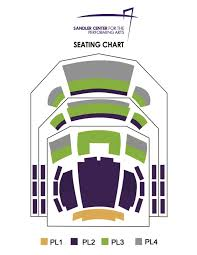 Cnu Ferguson Center Seating Chart Seating Charts Sandler Center For The Performing Arts