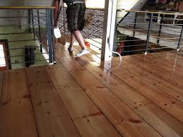 diy wide plank hardwood floors lumber yard planks end up 1 25 ft