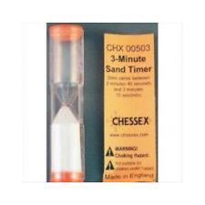 Chessex 3 Minute Sand Timer Chx00503 Ebay