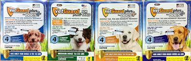 Vetguard Plus Dosage Chart Flea Tick Control Products Dog Cat Sunset Feed