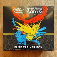Reservierter Artikel Pokemon TCG: HIDDEN FATES ELITE TRAINER BOX - ENGLISH  VERSION Verkauf Artikel. -vidicamproductions.com