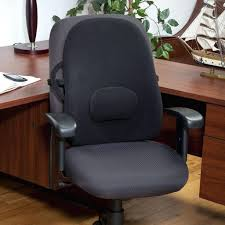 back pillows for desk chairs lumbar pillow size for chair