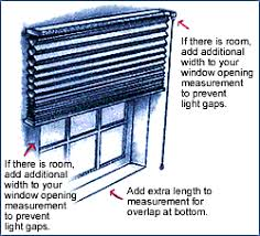 How to measure blinds Windows Blindsca How To Measure For Horizontal Blinds Using An Outside Mount