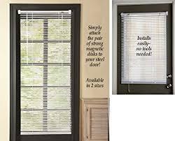 Image Sliding Patio Doors Amazon Magnetic Window Blinds White 25