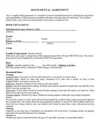 This is an agreement for renting rooms to individuals in a shared home. Room Rental Agreement Templates Addictionary