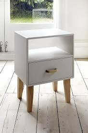white wood side table simple white wood bedside table furniture design ideas with single long style drawers white painted wood bedside table