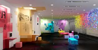 creative office. Attractive New Atmosphere By Creating Creative Office Interior Design Ideas : Lots Of Wonderful And F