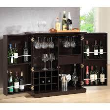 modern wine rack furniture. Stamford 12-Bottle Dark Brown Bar Cabinet Modern Wine Rack Furniture O