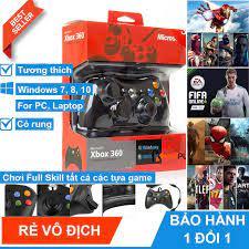Tay cầm chơi game cho pc xbox 360 mẫu giá rẻ - hỗ trợ chơi trên pc smart tv  android tv box xbox console - Sắp xếp theo liên quan sản phẩm