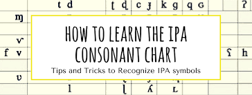 These phonetic symbols are used in many of our pronunciation exercises on the site. How To Learn The Ipa Consonant Chart Reach For The Speech