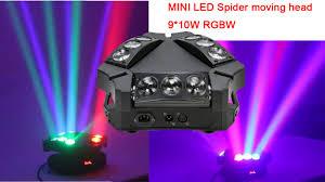 Mini Spider Moving Head Light Showlight Led 9x10w Mini Spider Moving Head Light