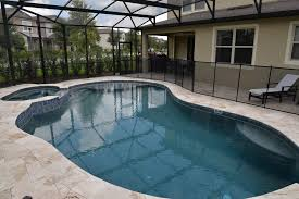 ite pool and spa in winter garden