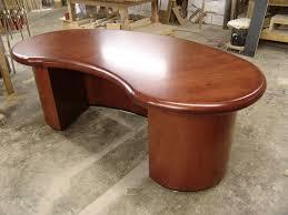 custom standing desk kidney shaped mid.  Shaped Full Size Of Zongkers Custom Kidney Shaped Desk Literarywondrous Desks  Images Concept Home 31  For Standing Mid