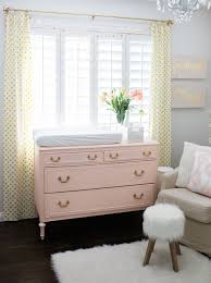 pink baby furniture. pink and gold nursery design love this dresserchanging table paired with pops baby furniture r