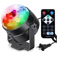 Dell Disco Light Us 9 84 32 Off Professional 7colors Dj Disco Ball Lumiere 3w Sound Activated Laser Projector Rgb Stage Lighting Effect Lamp Light Music Shows In