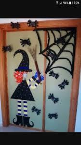 Decorate door for Halloween