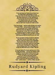 why is rudyard kipling s poem d if enotes why is rudyard kipling s poem d if