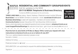 Telephone Listing Old Community Telephone Directory Mapua Ruby Coast Moutere Hills