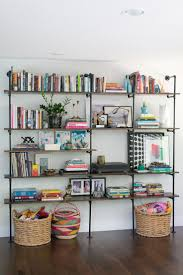 30 Cool Industrial Shelves And Racks For Any Space : 30 Cool Industrial  Shelves And Racks For Any Space With Pipe Bookshelves Design