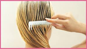 how to use at home hair toner between