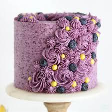 Lemon Layer Cake With Blueberry Buttercream Sugar Sparrow