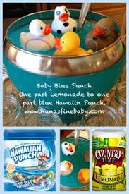 Marvellous Blue Non Alcoholic Drinks For Baby Shower 72 About Blue Punch For Baby Boy Shower