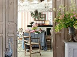 Beautiful French Country Interior Design Ideas Contemporary - Rustic modern dining room chairs