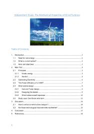 Wind Turbine Aerofoil Design Ip Attempt 2
