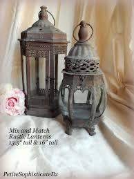 Sale Mix Match Rustic Lanterns Indoor Outdoor Rustic Centerpiece Wedding Lanterns For Sale