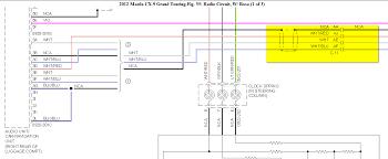 2012 mazda 3 stereo wiring wiring diagrams best 2009 mazda 5 radio wiring diagram wiring diagrams reader mazda stereo upgrades 2012 mazda 3 stereo wiring