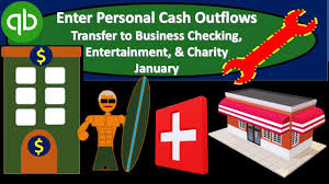 What Is Cash Outflows Quickbooks Enter Personal Cash Outflows Including Transfer To