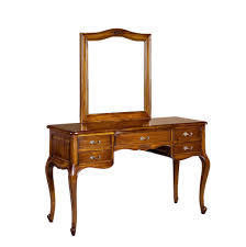 Mahogany Bedroom Furniture Alexander French Dressing Table With Mirror French Bedroom