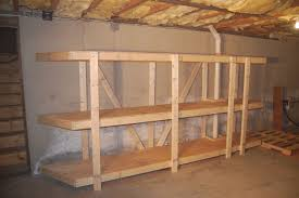 free standing shed shelves quick woodworking projects