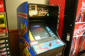 Ms Pacman Cabinet Filevideo Game Ms Pacman And Galagajpg Wikimedia Commons