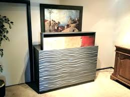 tv lift cabinet diy furniture lift cabinets lifts pertaining to plans in cabinet with lift ideas