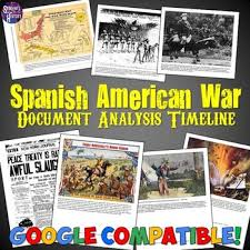 Main Inquiry Documents Analysis Chart Answer Key Spanish American War Document Analysis Timeline By Students