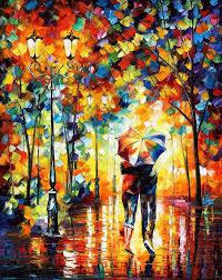 colorful impressionist oil paintings by leonid afremov