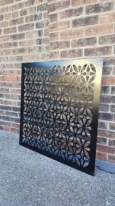 metal privacy screen decorative panel