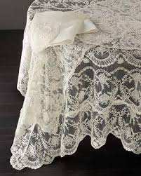 chantilly lace oblong tablecloth