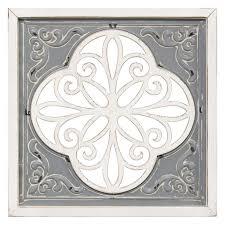 16x16 embossed metal wood medallion