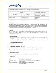 What Is Sop Example Of Standard Operating Procedures Format Free 6