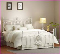 white wrought iron bed. Unique Wrought White Wrought Iron Bed Queen Inside