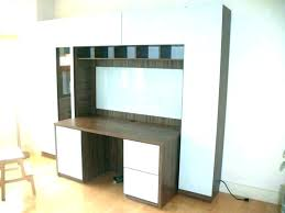 wall unit computer desk wall unit with desk and bookcases wall units with desk computer desk